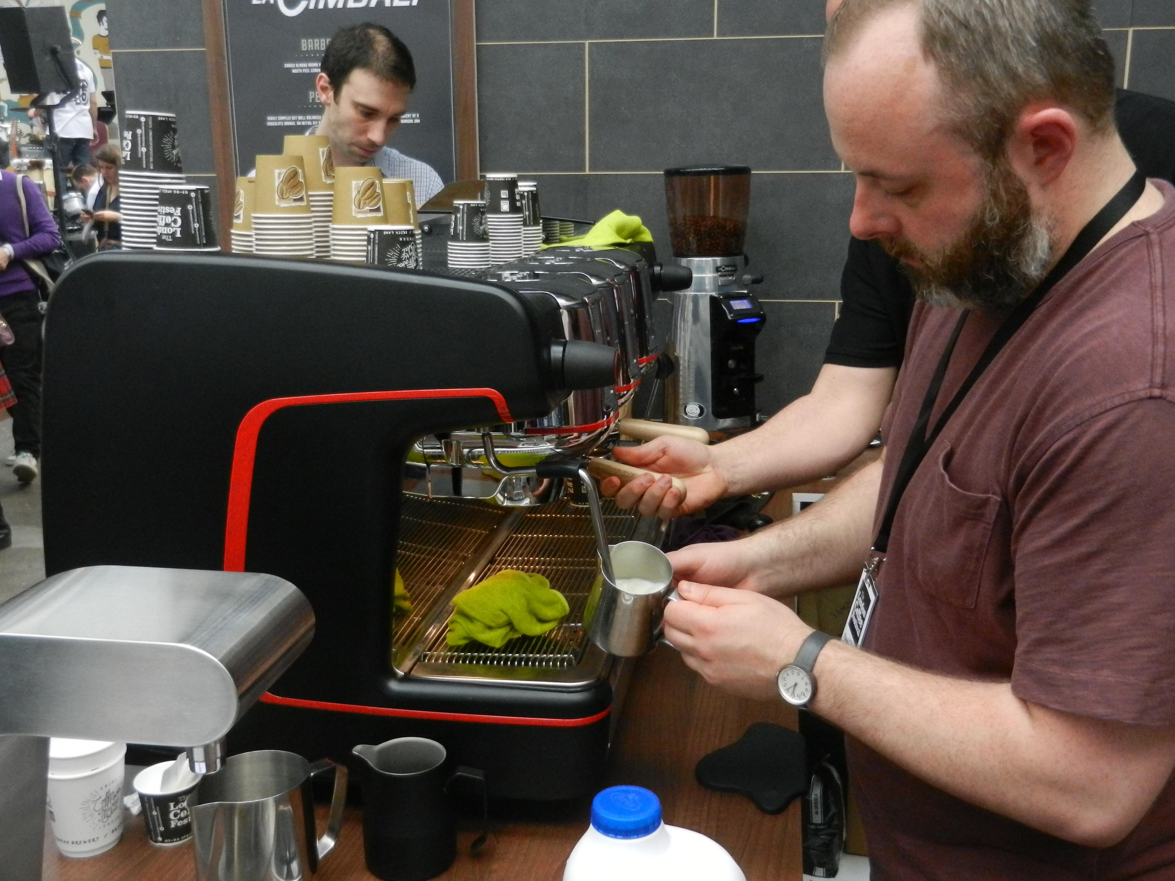 La Cimbali M100 - London Coffee Festival 2014