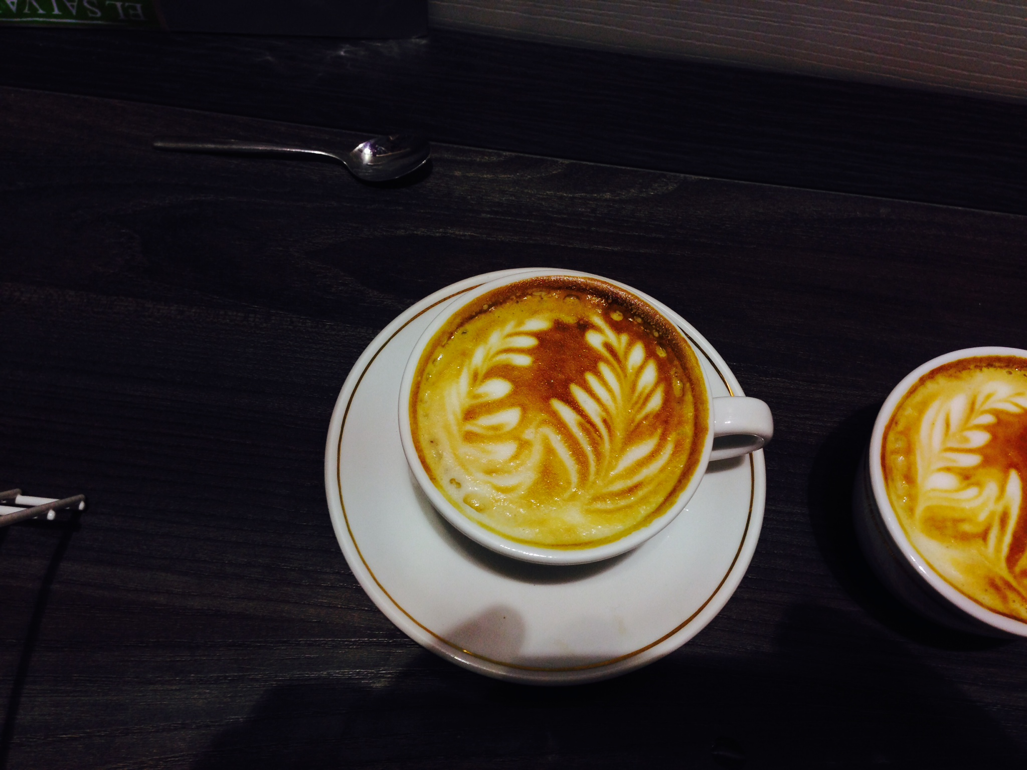 Cimbali UK Swirling Rosetta by Rob Ward - Coffee Art Cimbali UK