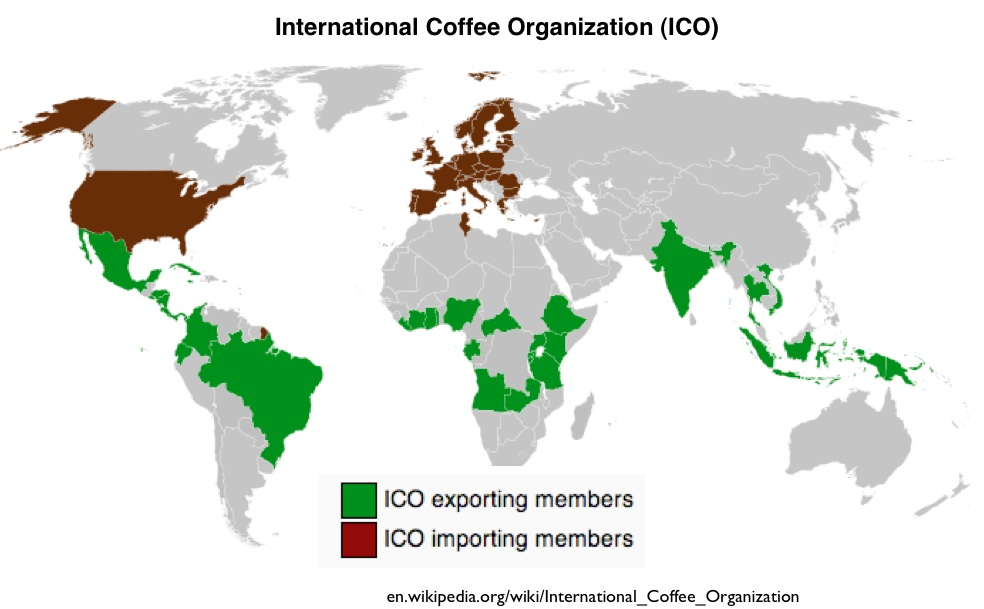 coffee growing countries image collections